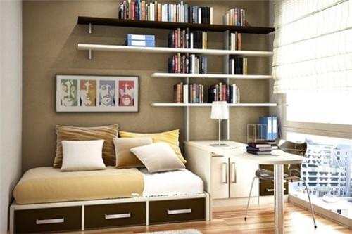 书香气息,2015书房装修效果图案例设计赏析图片