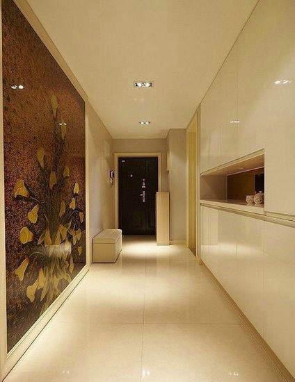 90平米温馨雅居,两室一厅装修案例赏析2015大全高清图片