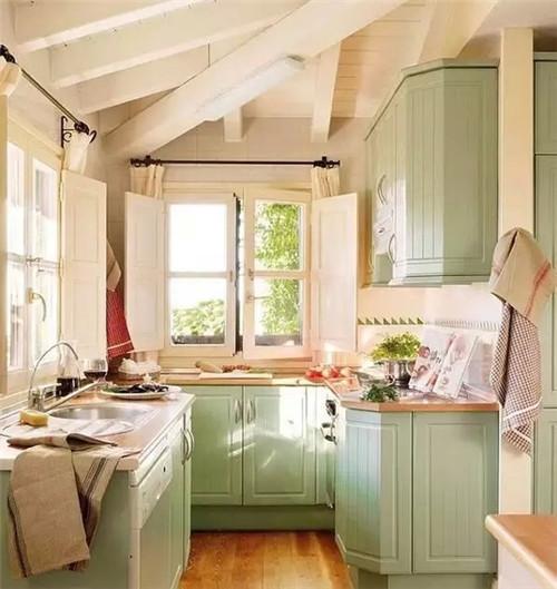 精致小户型厨房装修效果图2016图片 简单温馨高清图片