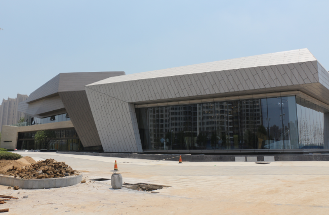 【合肥云谷】全新艺术展示中心即将荣耀面世