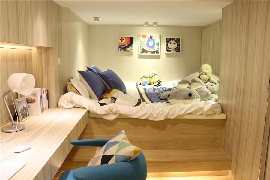 滨湖东方汇·翡丽公馆53㎡两室两卫样板间赏析