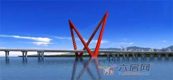 六安寿春西路大桥11月工程进度 主体搭建中
