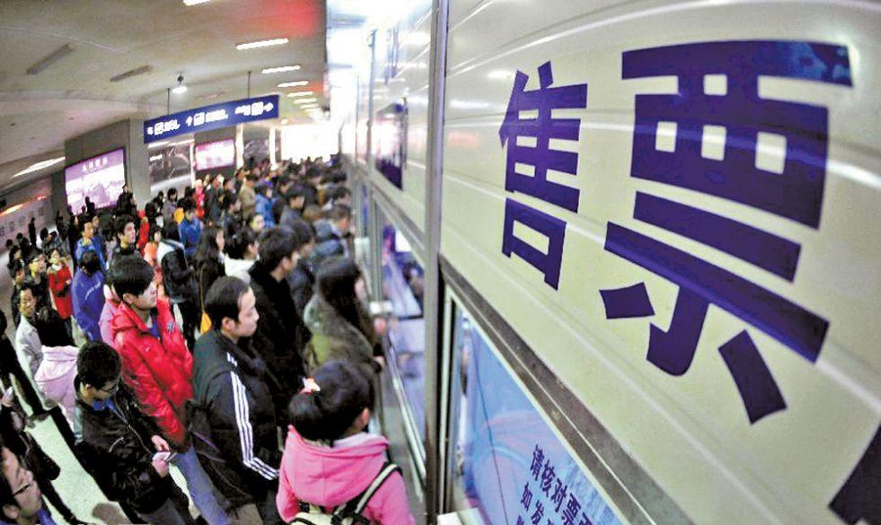 下周四起可抢购春运火车票 不妨关注三个购票高峰