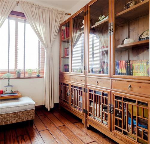 简约新中式风格新房装修效果图大全2016图片 红木家装高清图片