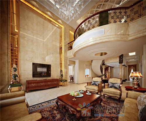 800平独栋别墅欧式装修奢华装修效果图别墅2保定有大全哪里图片