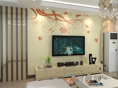 硅藻泥电视背景墙效果图2016款,客厅电视背景墙装修不再愁-硅藻泥
