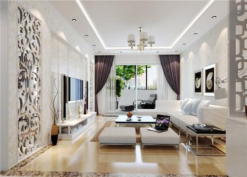 2016新房客厅装修效果图大全 沙发电视背景墙
