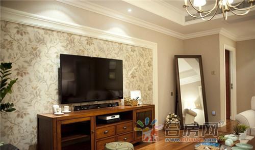 144平美式风格电视背景墙装修效果图大全2016图片图片