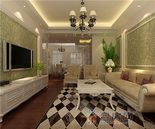 今天给大家看2套90平米简欧风格的二居室装修,房间布局经典简约,也带图片
