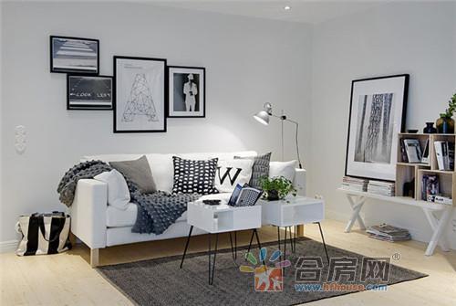 简欧宜家风格小户型客厅装修效果图 2016年图片大全图片