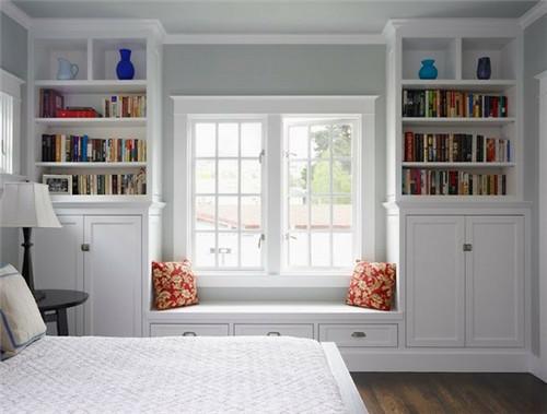 2016新房装修 *简约风格小卧室飘窗也时尚