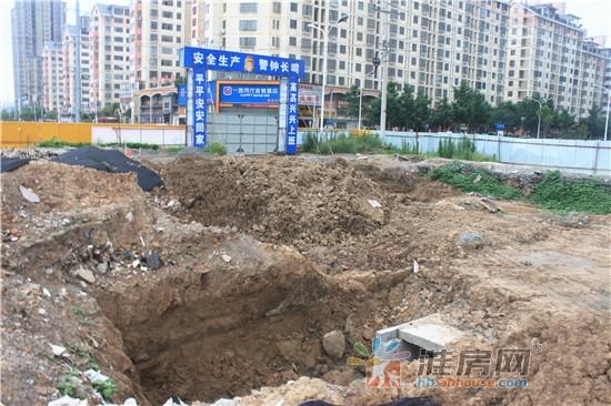 施工中 (图片来源:淮北房地产交易网)-淮北城建开外挂 2016上半年