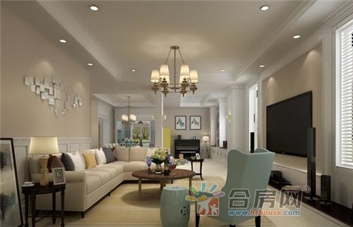 10款美式风格客厅装修效果图 小户型客厅也很好