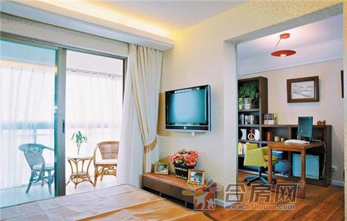 装潢设计keting-客厅阳台一体装修效果图 10套简约客厅装修创意集