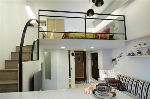 10张40㎡挑高精品复式小户型公寓装修效果图-合房网图片