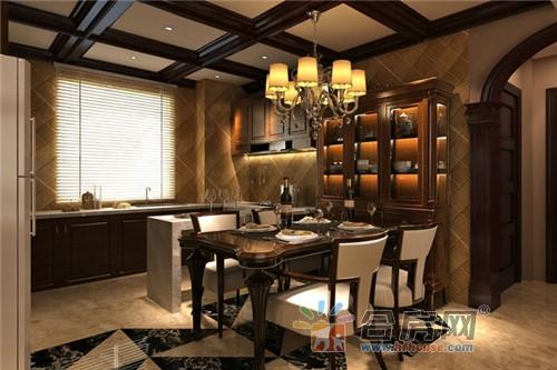 美式风格低调*别墅公寓装修效果图图片