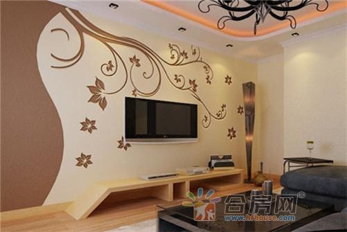 10款硅藻泥电视背景墙效果图 2017客厅装修新潮流