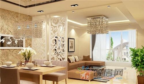 10款玄关客厅隔断装修效果图欣赏 通透又大气的装修必备