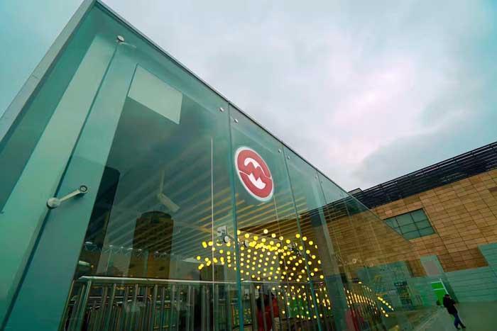 3、4号线上海火车站站西站厅启用 四通八达更便利
