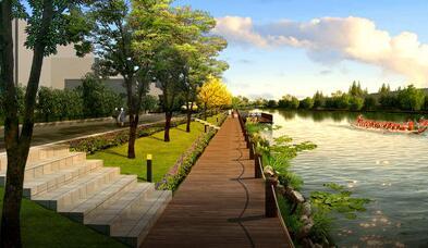投资3亿元 八卦洲下坝村将建多功能生态旅游区