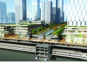 """4条地铁将穿过江北新区CBD""""地下城"""" 预计9月开建"""