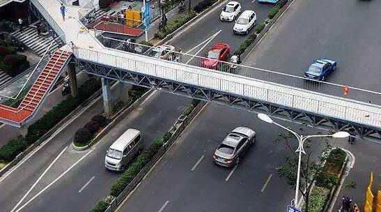 洪武路天桥又要重建 总投资约3400万预计年底前完工