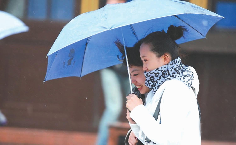 晴好天气持续 冷空气本周杀来周末安徽省要下雨