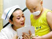 """七岁女孩常州治疗白血病复发 为筹款""""全家总动员"""""""