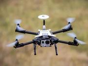 厉害了!常州首次运用无人机高空布线 助力电网建设