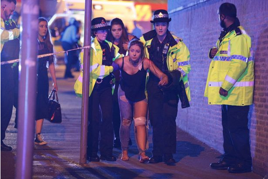 英国曼彻斯特体育场爆炸已致至少19死50人受伤