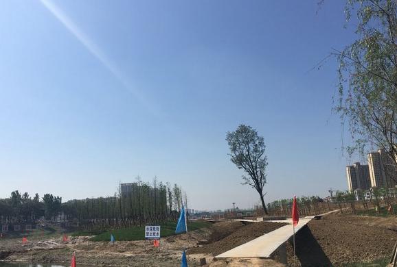 """亳州陵西湖公园:静待开放的""""水上江南"""""""