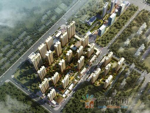 中国铁建青秀城楼盘视频