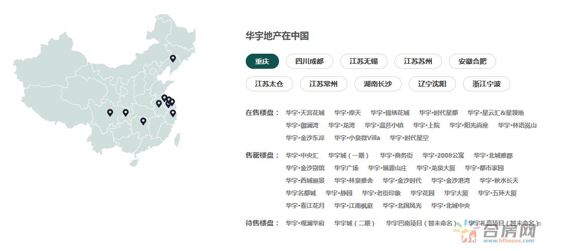 华宇在中国