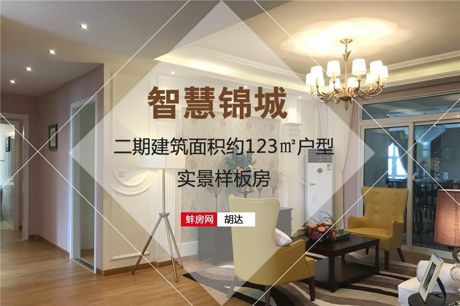 智慧锦城二期建筑面积约123㎡户型样板房
