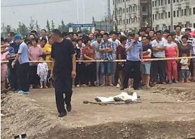 蚌埠失踪女童被发现埋于施工路面下 警方已调查