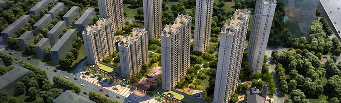 雍锦半岛大型空中发布会暨城市会客厅开放