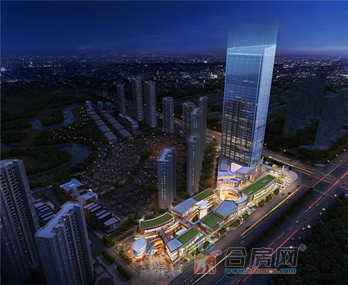 【万科中心】立于主城四里河片区,依托城市之光这一全新城市综合体图片