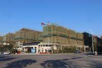 三巽公园墅12月工程进度:洋房全部封顶
