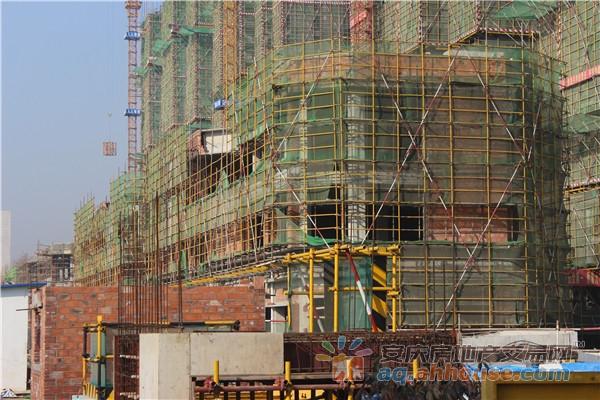 恒大金街正在建设