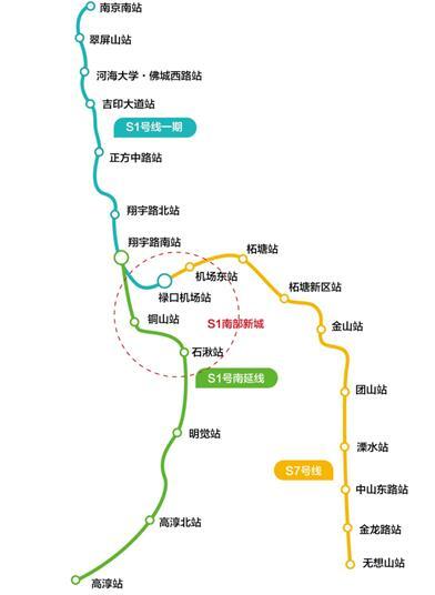 南京地铁S1号线南延线建设进入冲刺阶段图片