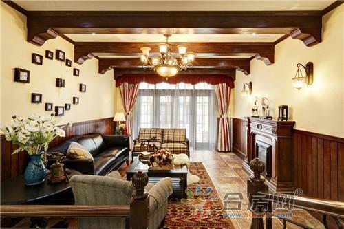 旷风格和生活情怀;且在走廊中加入古典欧洲建筑元素图片