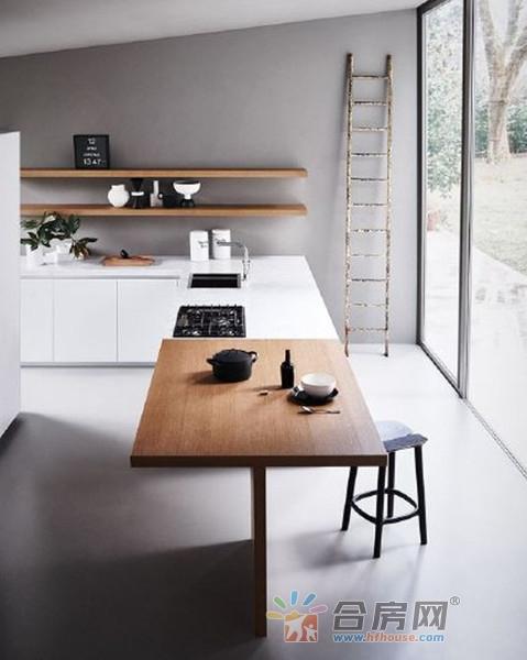 小户型装修福利,80平米三居室小户型装修设计案例