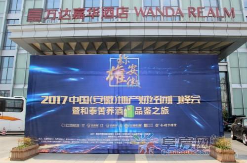"""""""称雄安徽""""2017中国(安徽)地产财经闭门峰会"""