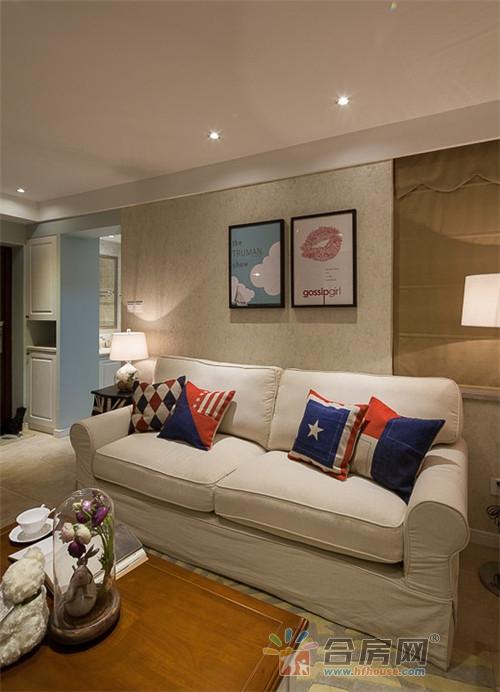 70平米公寓美式风格装修效果图2017图片大全图片