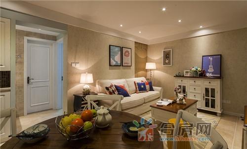 70平米公寓美式风格装修效果图2017图片大全