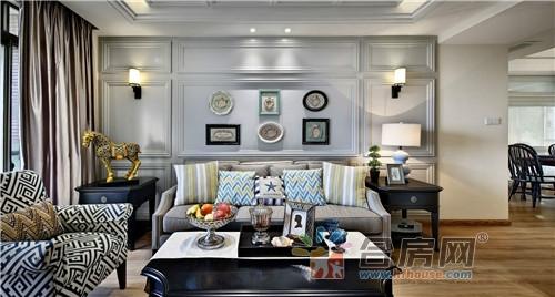 美式风格的装修案例,整体的家居用品都以高端的档次为主,房子面积不图片