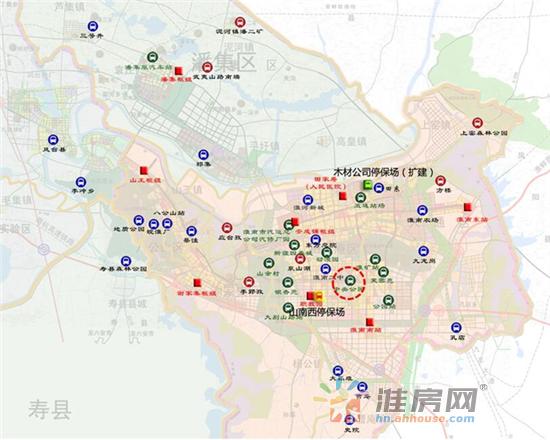 南新区并无公交枢纽站,影响居民出行和公交车辆运行,市建发集团《淮南