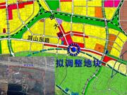 淮南洞山东路南侧新添公园绿地 助力打造宜居板块!