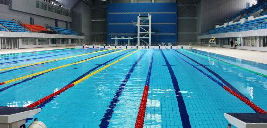蚌埠市游泳跳水馆预计三月底建成