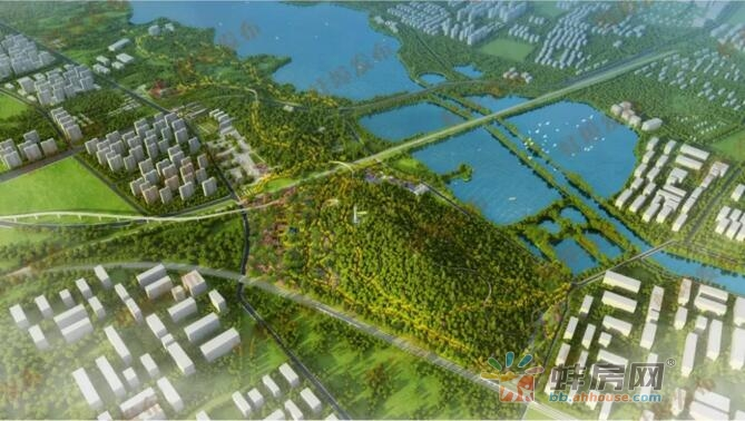 蚌埠将添一座森林公园 相当于27个南山儿童公园!